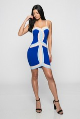 Infinity Colorblock Bodycon Dress