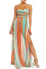 Resort Stay Slit Maxi Dress